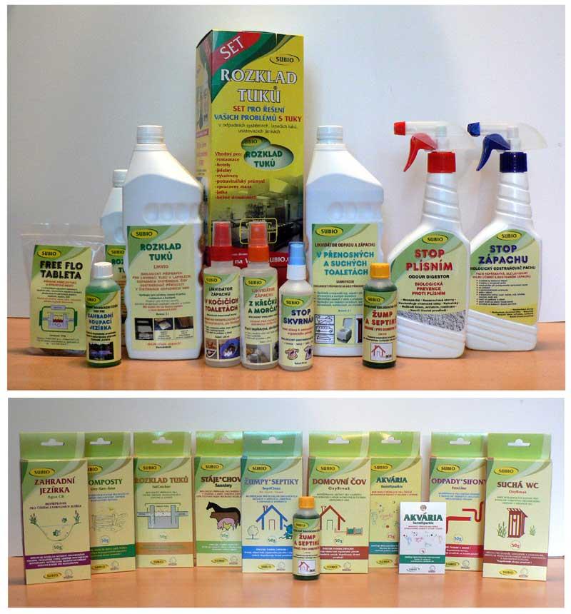 Výrobky Subio